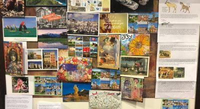 Around the world in 80 postcards!